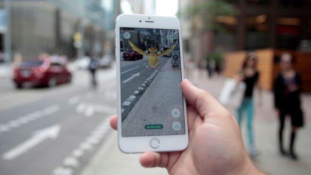 стандартные Pokemon Go требования.