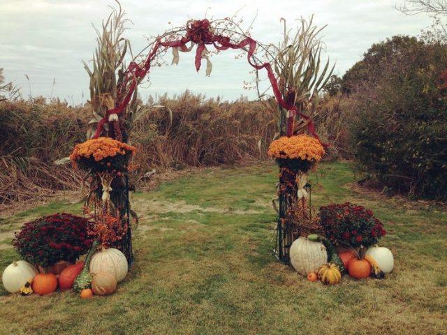украшения свадебной арки своими руками