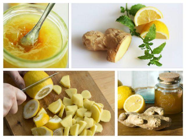 варенье лимон и имбирь