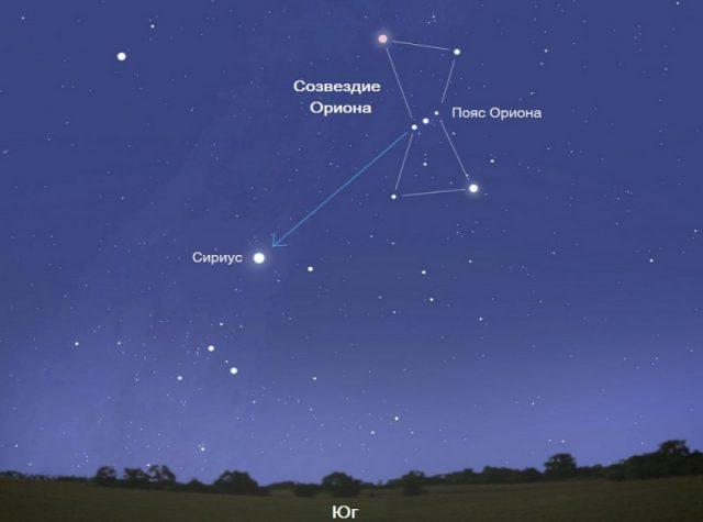 Как найти созвездие