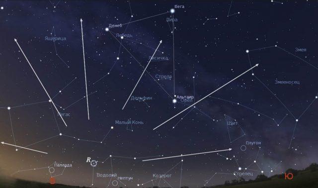 В какое время года можно увидеть созвездие Водолея