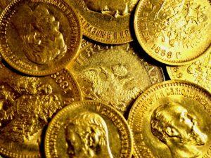 Как сделать золотую монету дома?