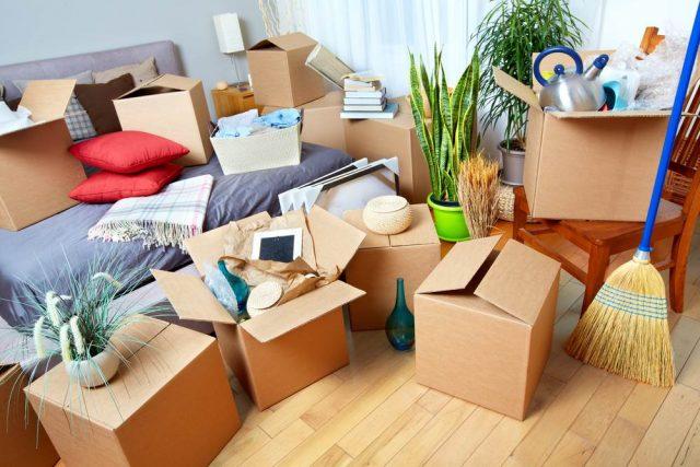 вещи в новую квартиру