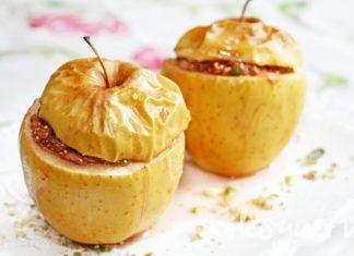 Как Запечь Яблоки С Медом: Классический Рецепт С Изюмом