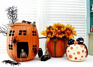 Как украсить тыкву на Хэллоуин: 15 крутых способов для вас