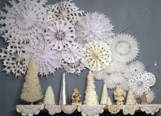 Как вырезать снежинки из бумаги своими руками поэтапно?