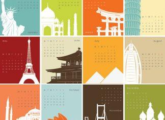 Календарь путешествий: справочник направлений на каждый месяц года