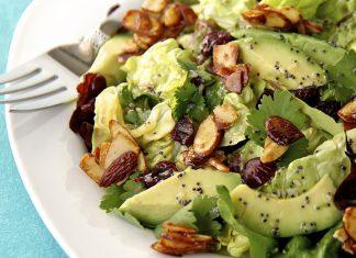 Сохраните себе 5 обалденных салатов с авокадо для своей семьи