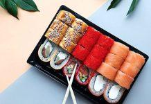 Доставка суши домой от онлайн-ресторана Суши Мастер в Нижнем Новгороде