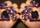 Как красиво выложить камни на ногтях: 5 легких шагов для настоящей леди