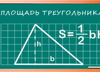 Как найти площадь треугольника: несколько формул, которые облегчат вам жизнь перед ЕГЭ
