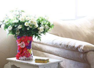 Как сделать вазу своими руками: 4 варианта шикарных ваз для дома или на подарок