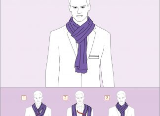 12 СУПЕР примеров, как красиво завязать шарф на шее женщине и мужчине